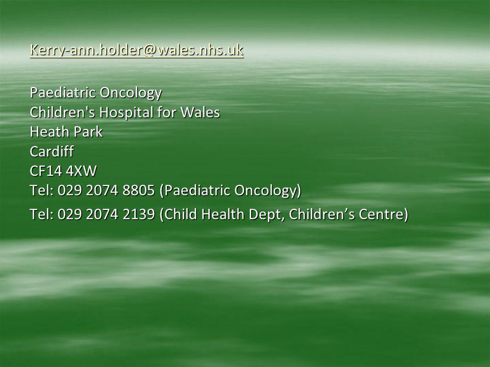 Kerry-ann. holder@wales. nhs