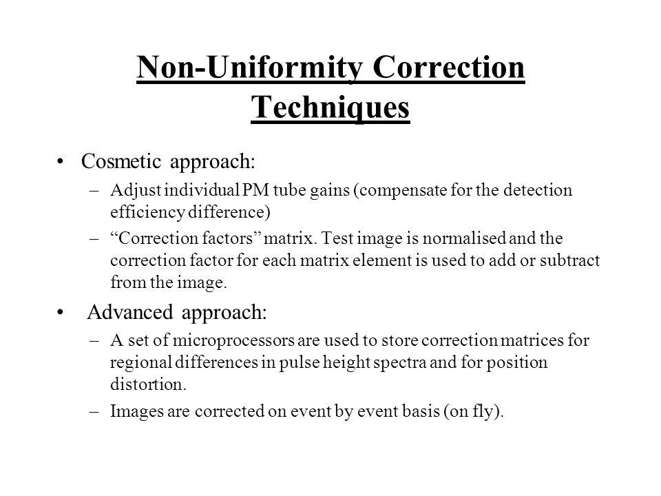 Non-Uniformity Correction Techniques