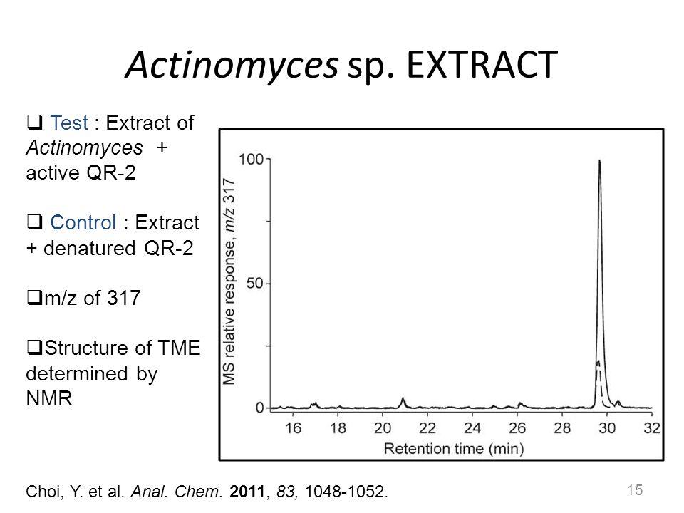 Actinomyces sp. EXTRACT
