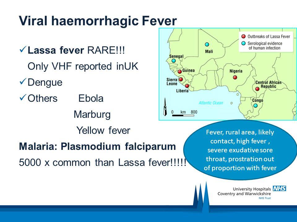 Viral haemorrhagic Fever