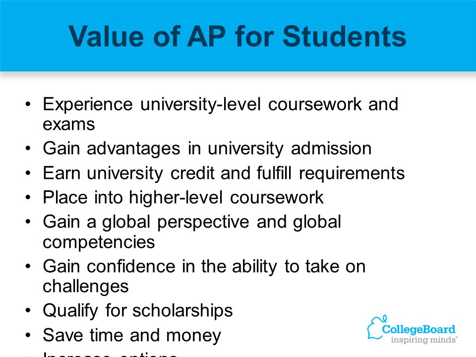 Value of AP for Students