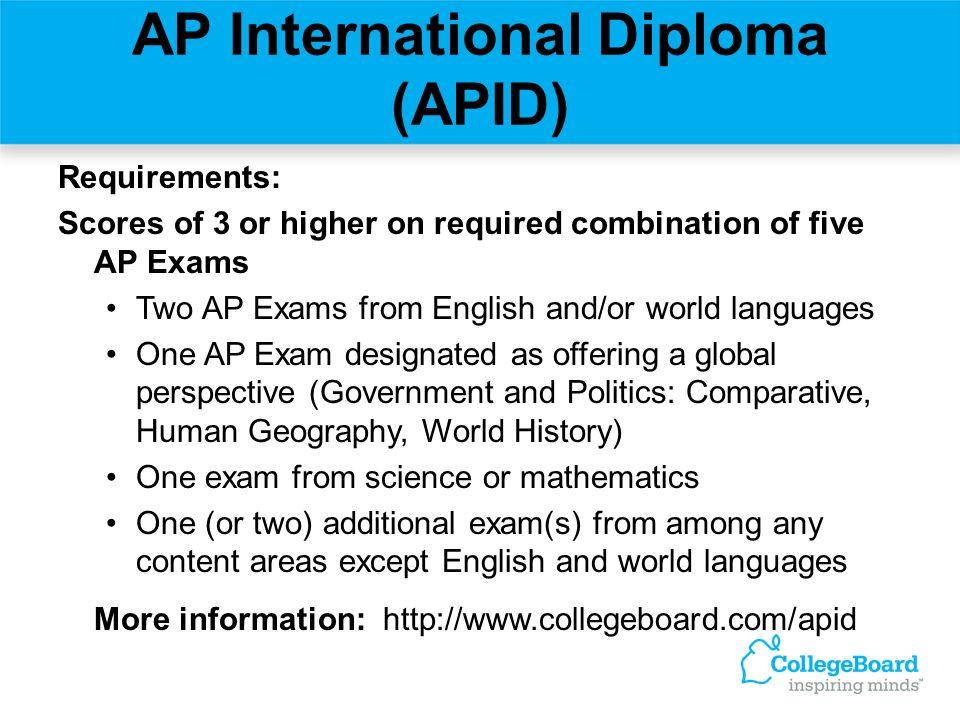 AP International Diploma (APID)