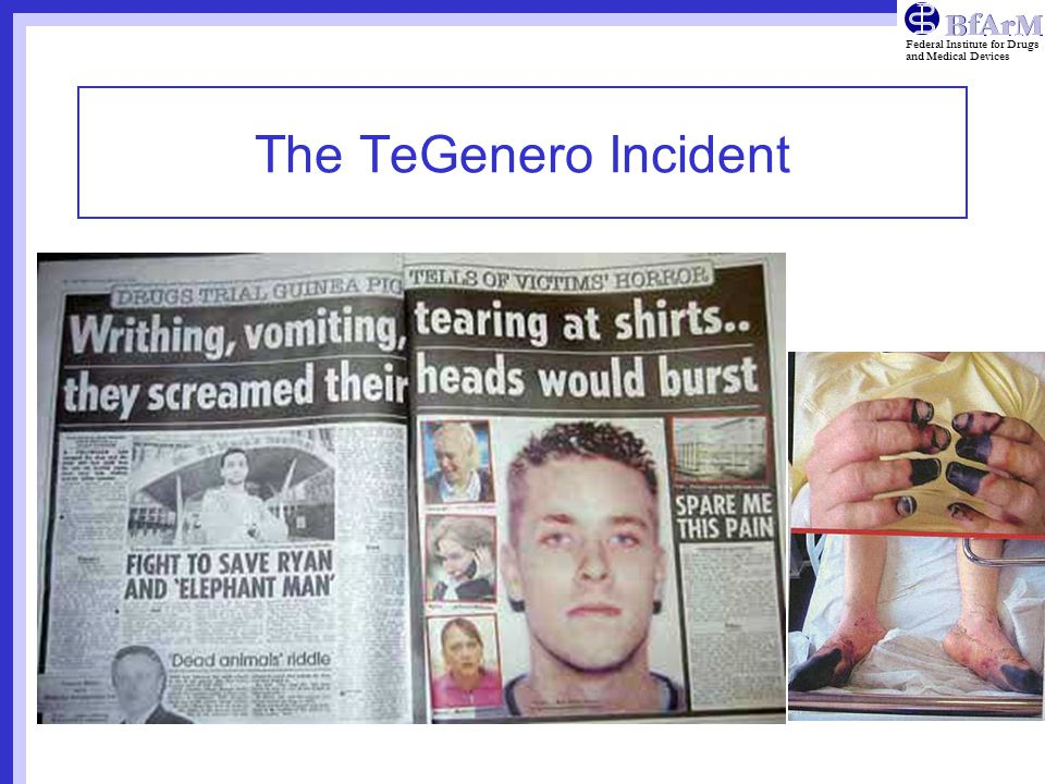 The TeGenero Incident