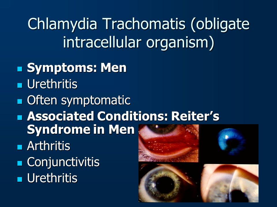 Chlamydia Trachomatis (obligate intracellular organism)