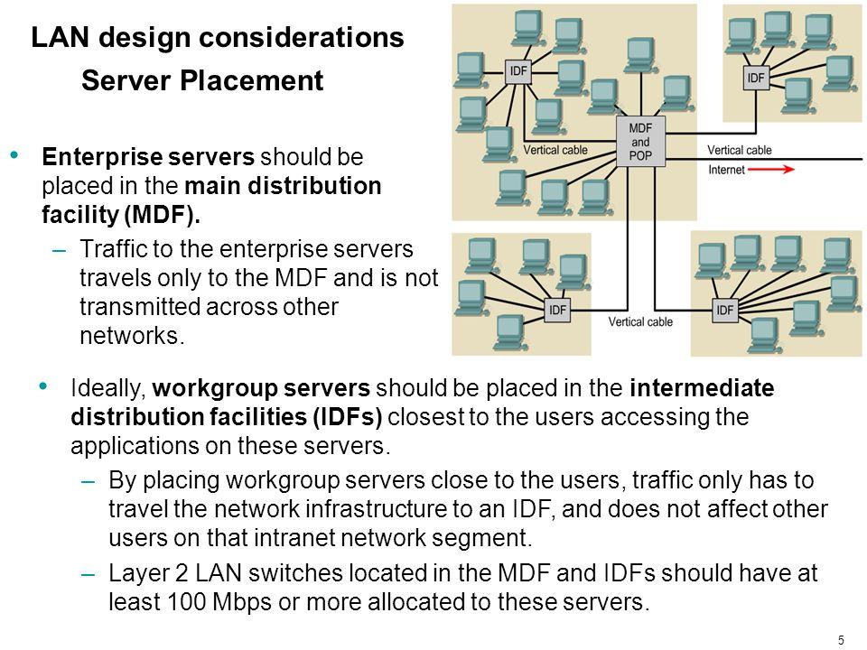 LAN design considerations