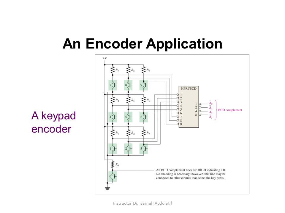 An Encoder Application
