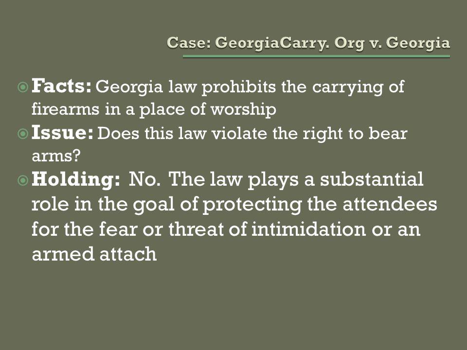 Case: GeorgiaCarry. Org v. Georgia