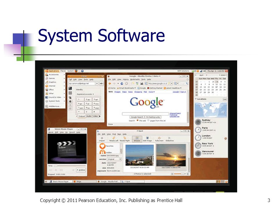 * 07/16/96 System Software Copyright © 2011 Pearson Education, Inc. Publishing as Prentice Hall *