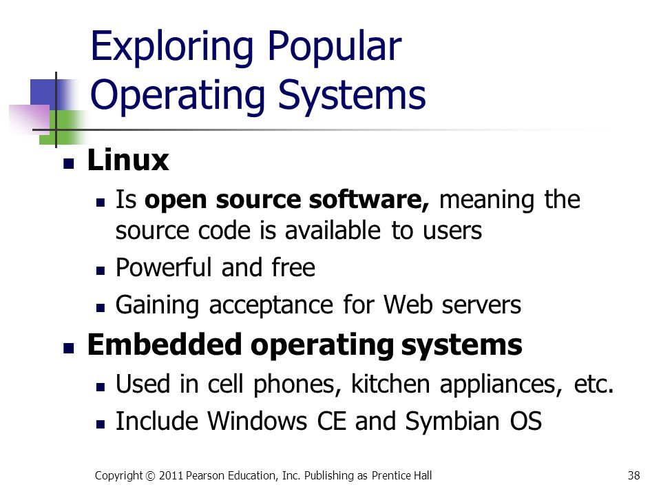 Exploring Popular Operating Systems