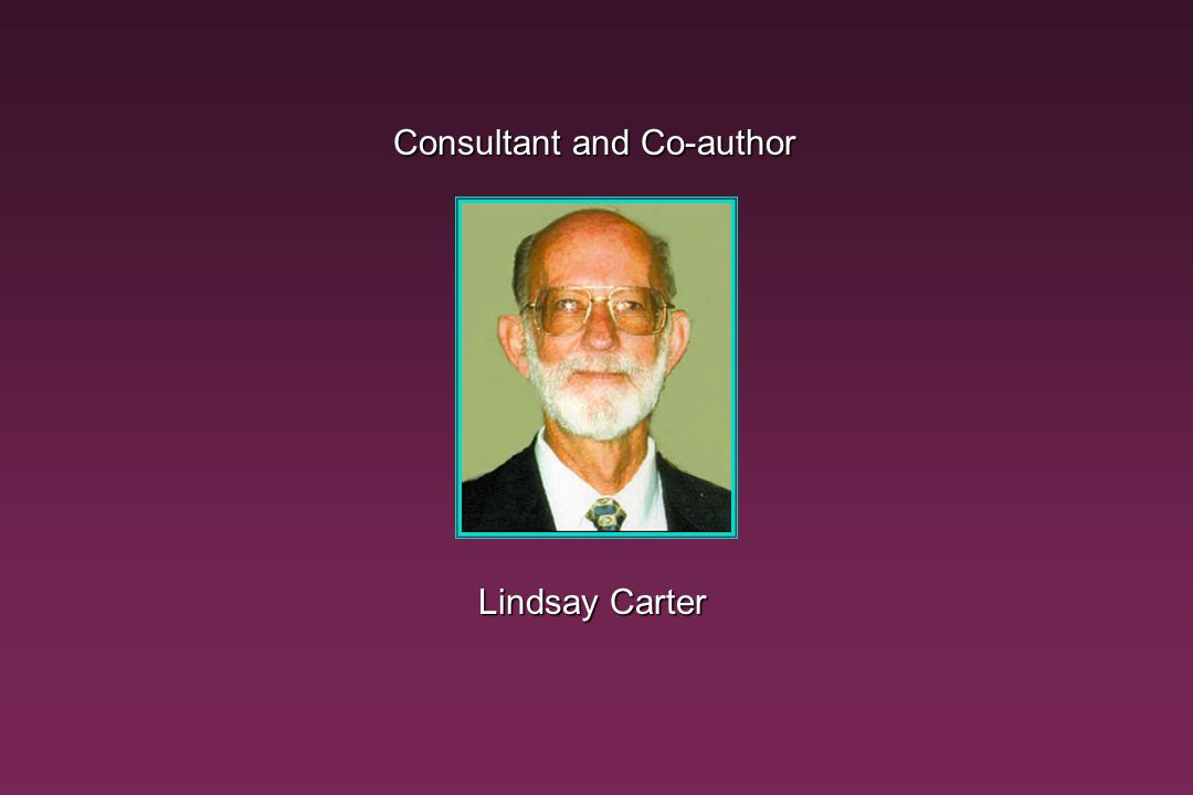 Consultant and Co-author
