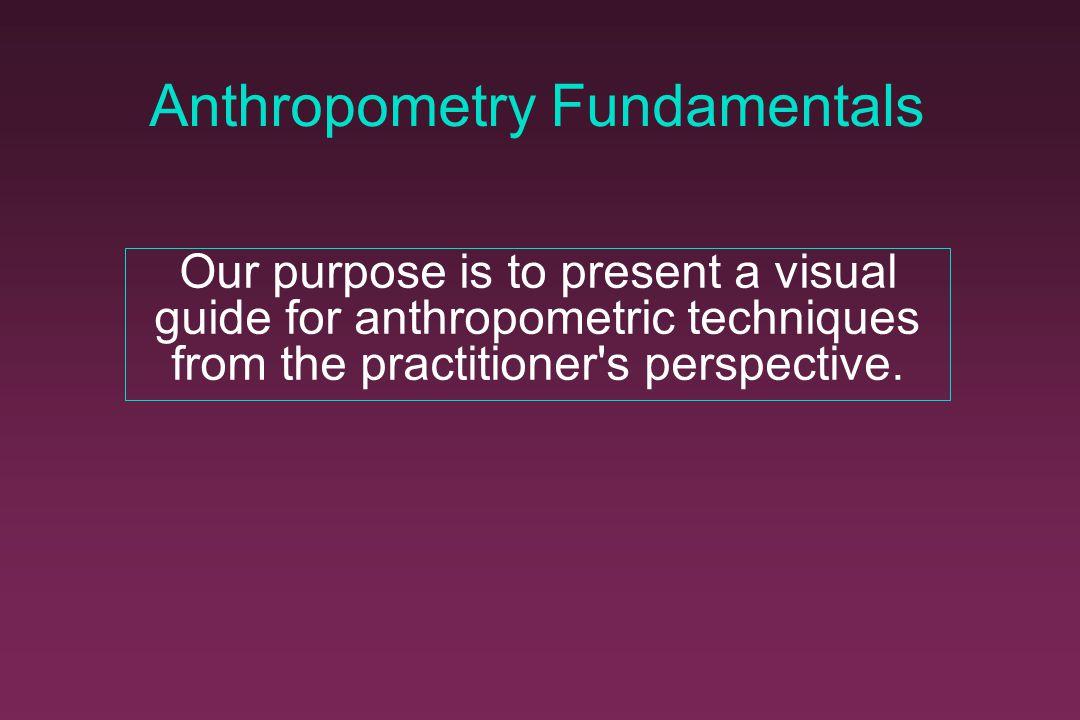 Anthropometry Fundamentals