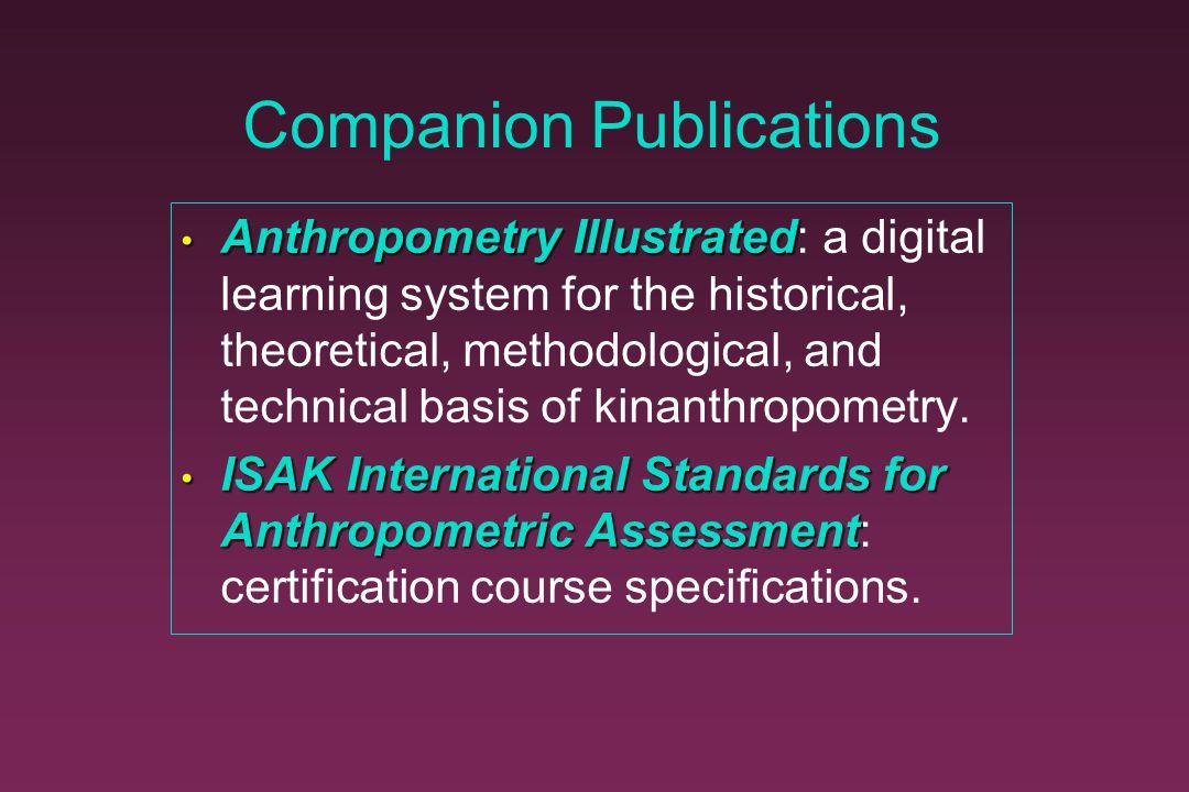 Companion Publications