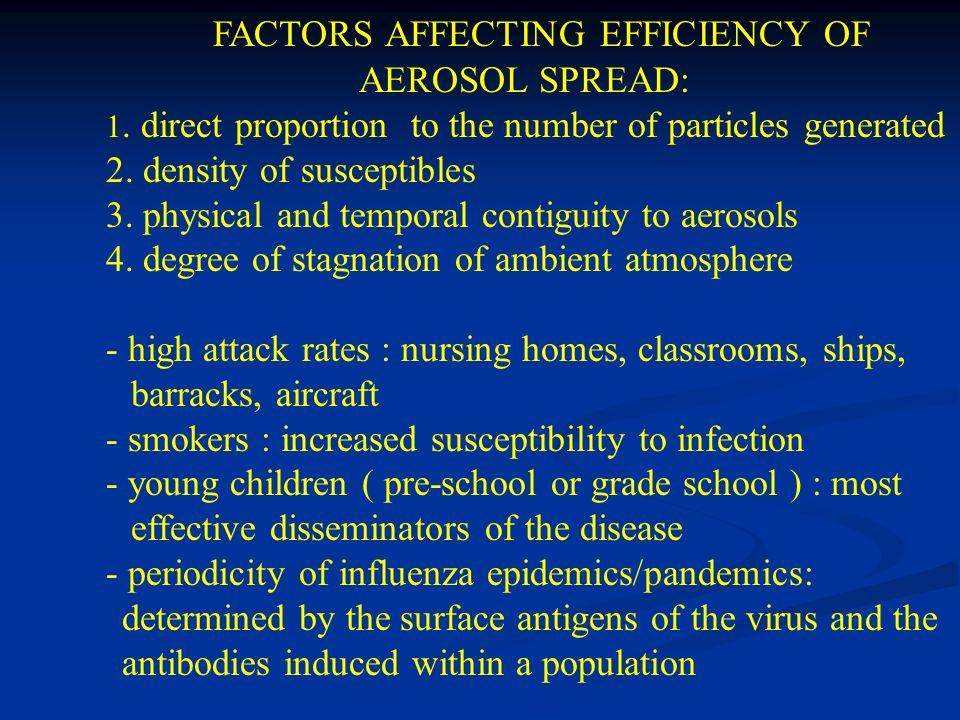 FACTORS AFFECTING EFFICIENCY OF