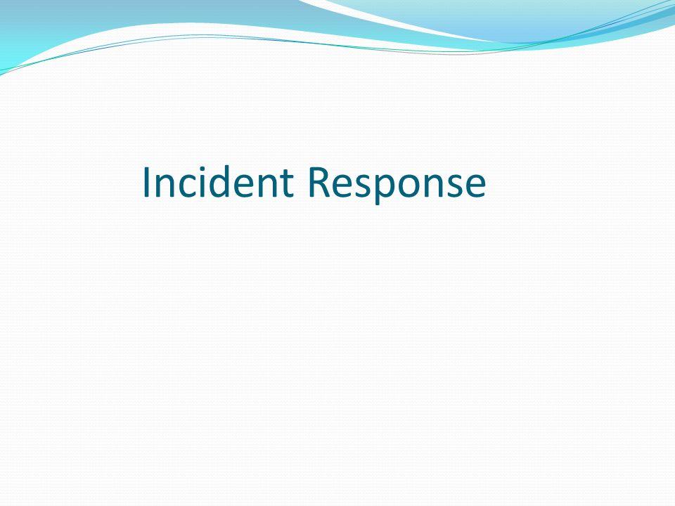 Incident Response 21