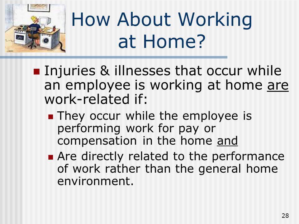 How About Working at Home
