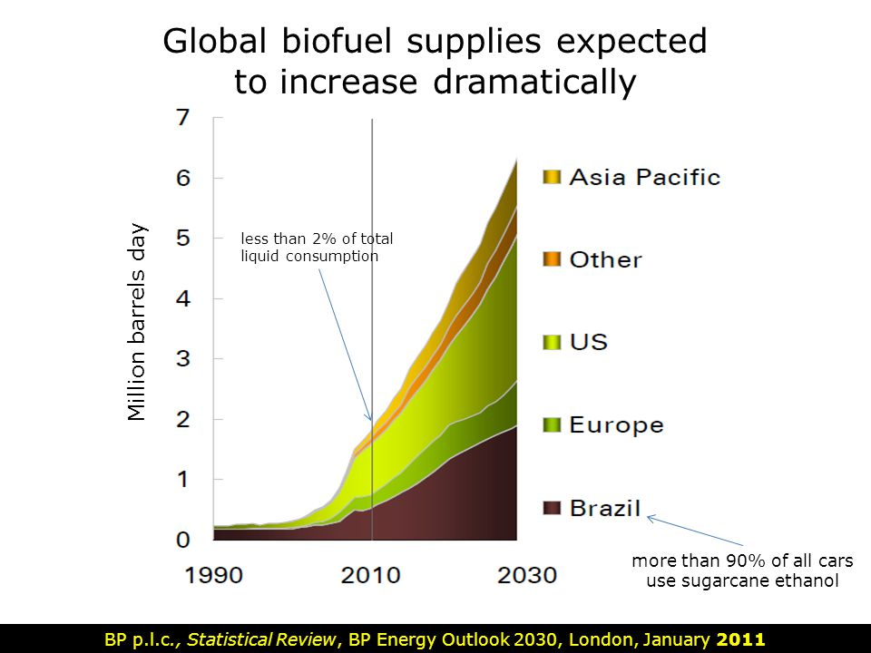 Global biofuel supplies expected to increase dramatically