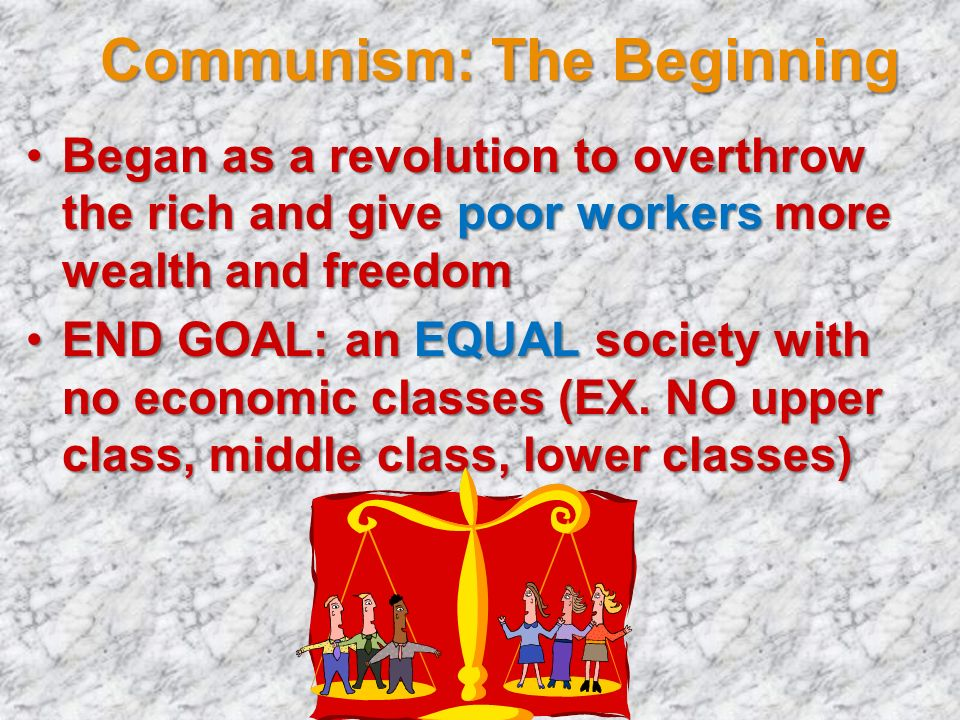 Communism: The Beginning