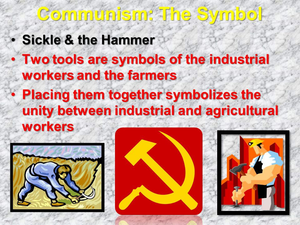 Communism: The Symbol Sickle & the Hammer