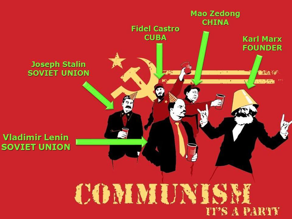 Vladimir Lenin SOVIET UNION