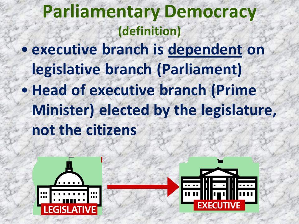 Parliamentary Democracy (definition)