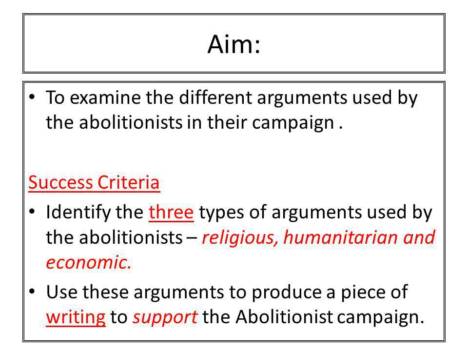 examine the arguments Tip: examine your own arguments: if you're saying that we have to choose between just two options, is that really so or are there other alternatives you haven't mentioned or are there other alternatives you haven't mentioned.