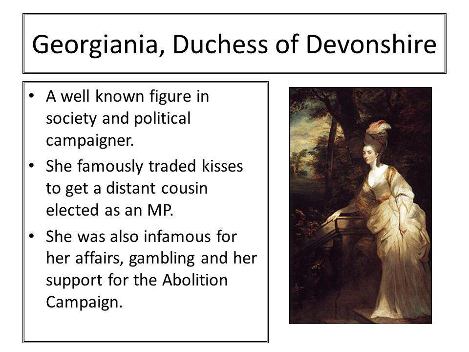 Georgiania, Duchess of Devonshire