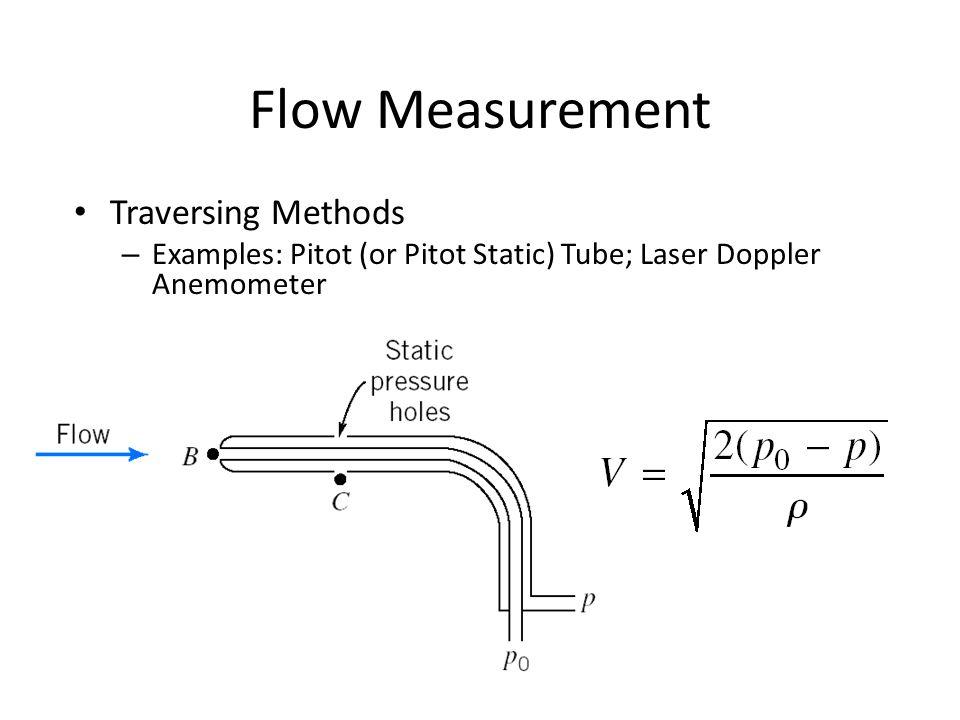 Flow Measurement Traversing Methods