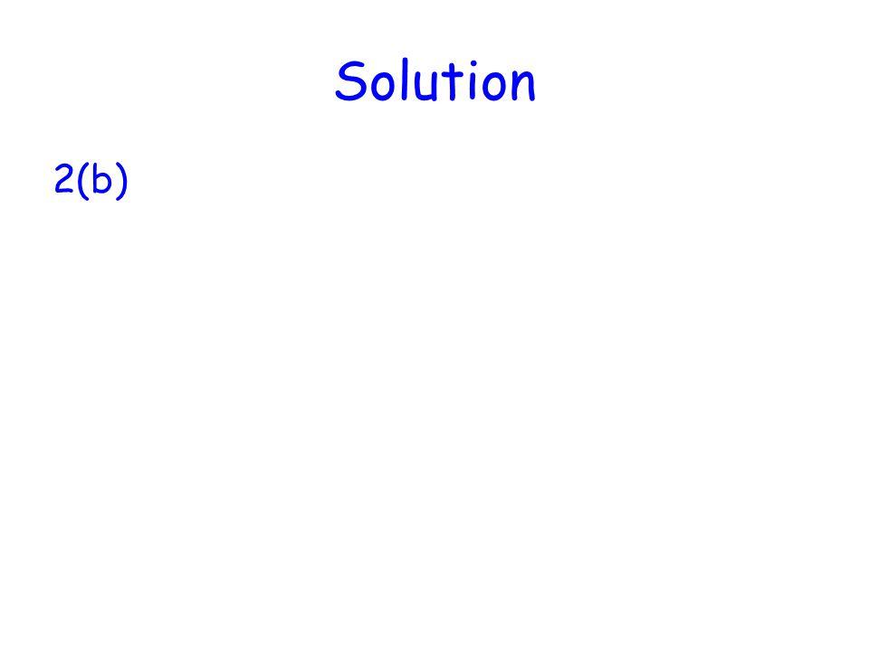 Solution 2(b)