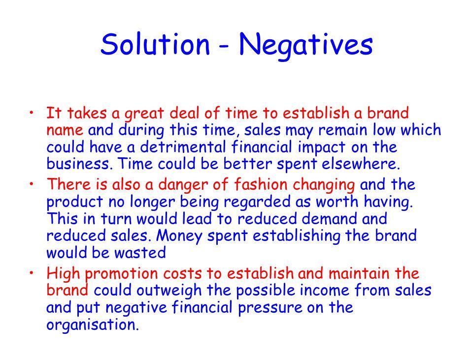 Solution - Negatives
