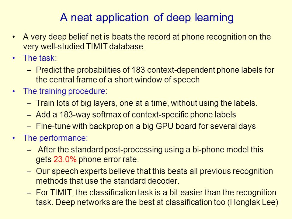 A neat application of deep learning