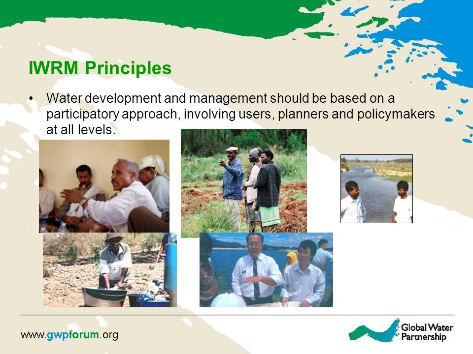 IWRM Principles