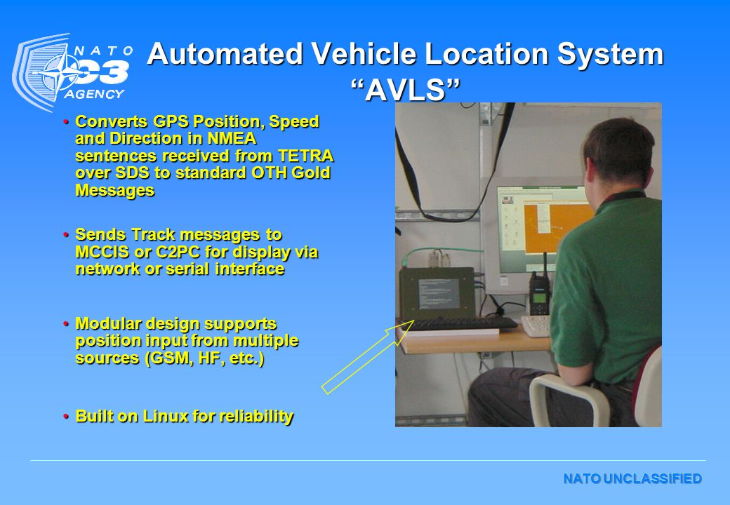 Automated Vehicle Location System AVLS