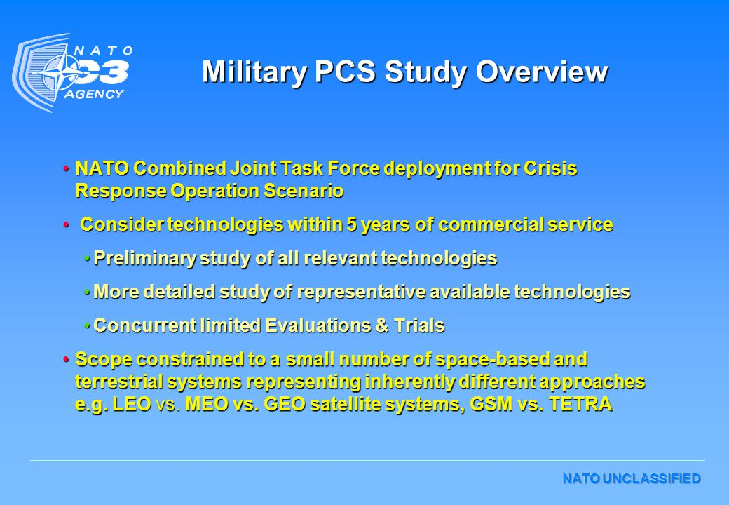 Military PCS Study Overview