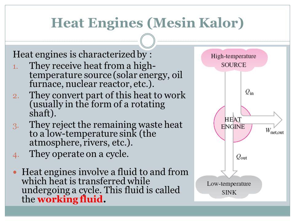 Heat Engines (Mesin Kalor)