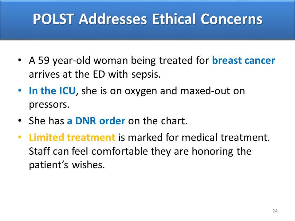 POLST Addresses Ethical Concerns