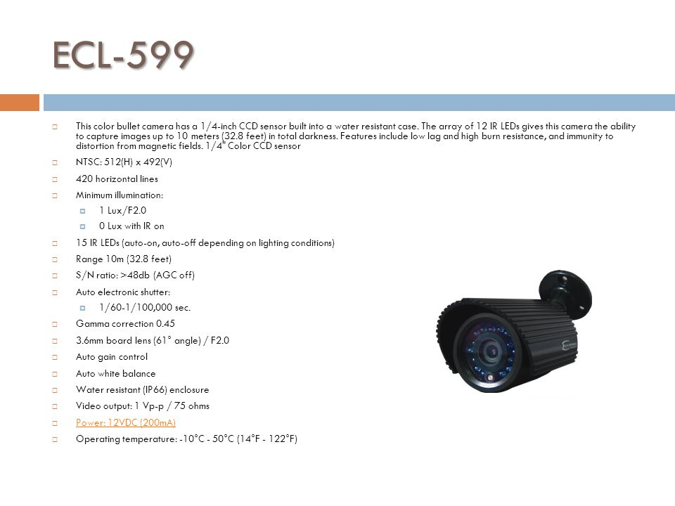 ECL-599