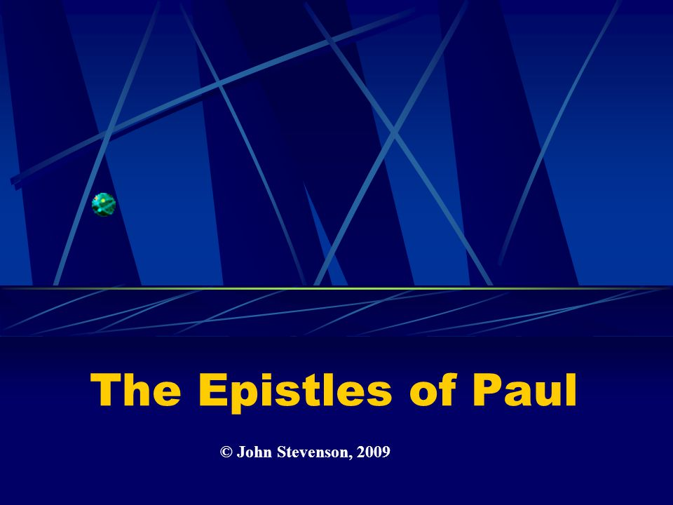 the epistles of paul pdf