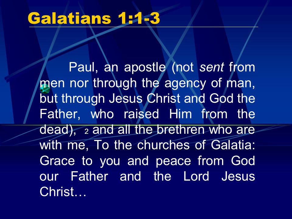 Galatians 1:1-3