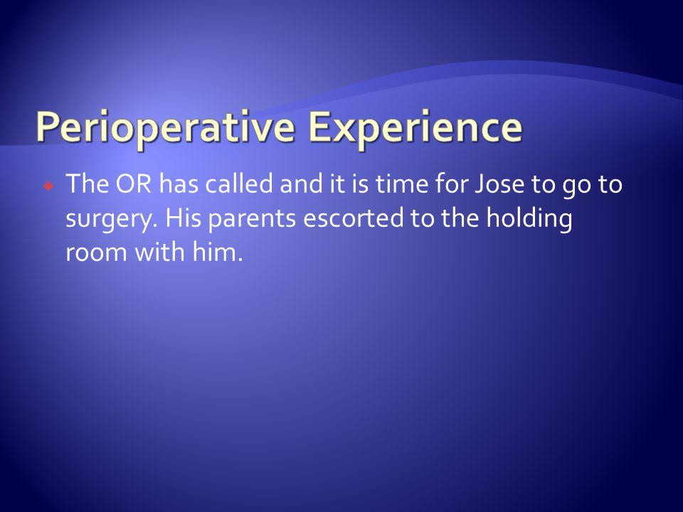 Perioperative Experience