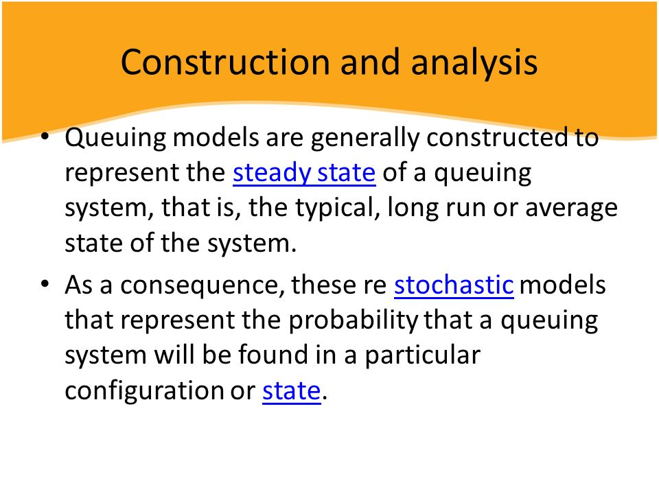 Construction and analysis