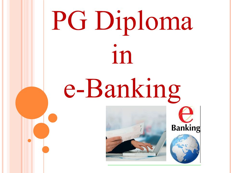 PG Diploma in e-Banking