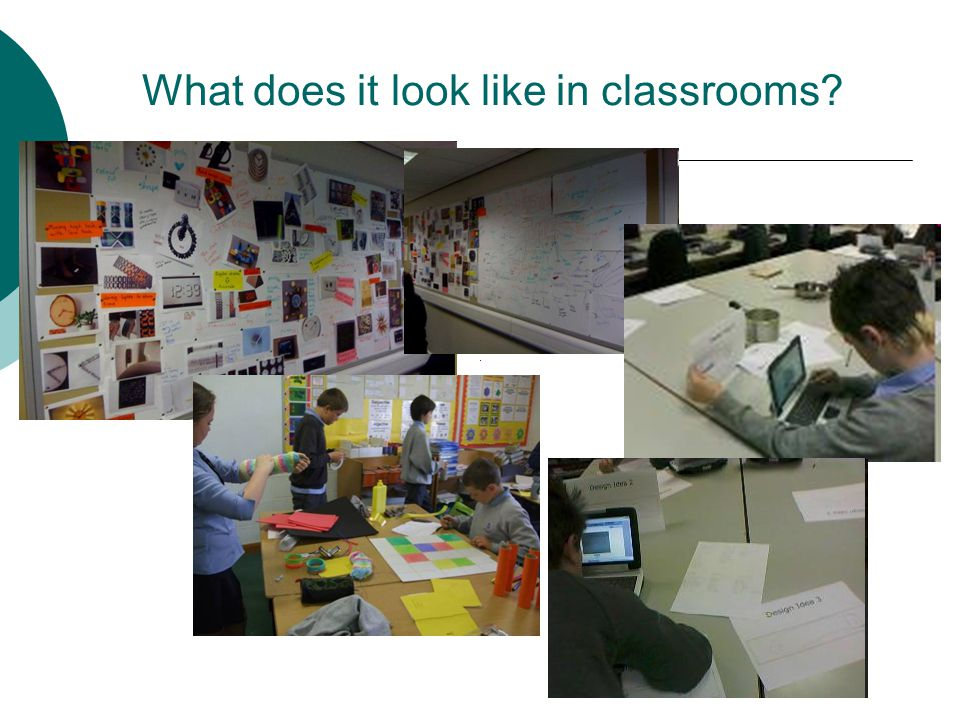 What does it look like in classrooms