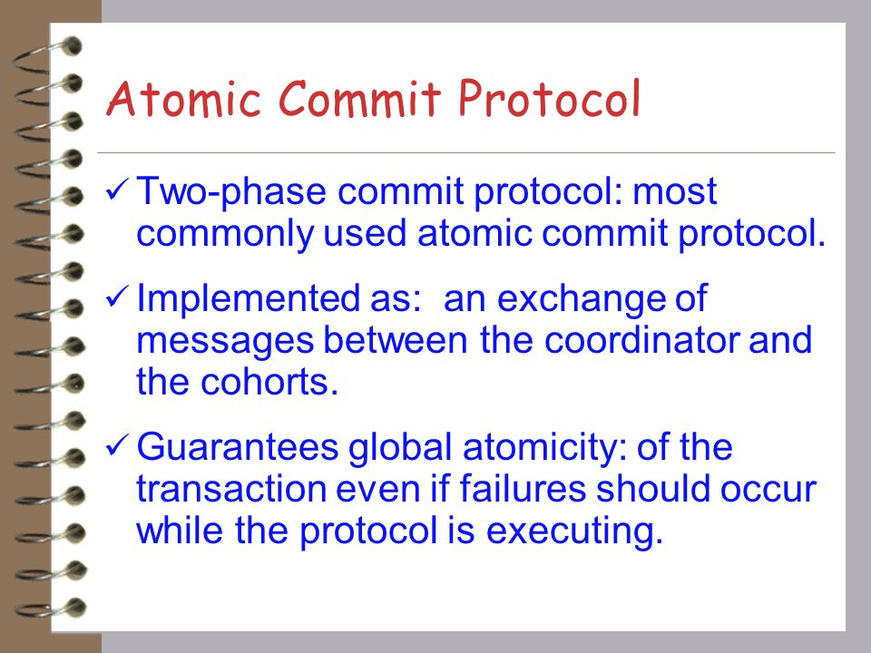 Atomic Commit Protocol