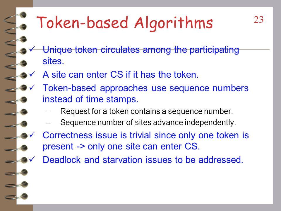 Token-based Algorithms