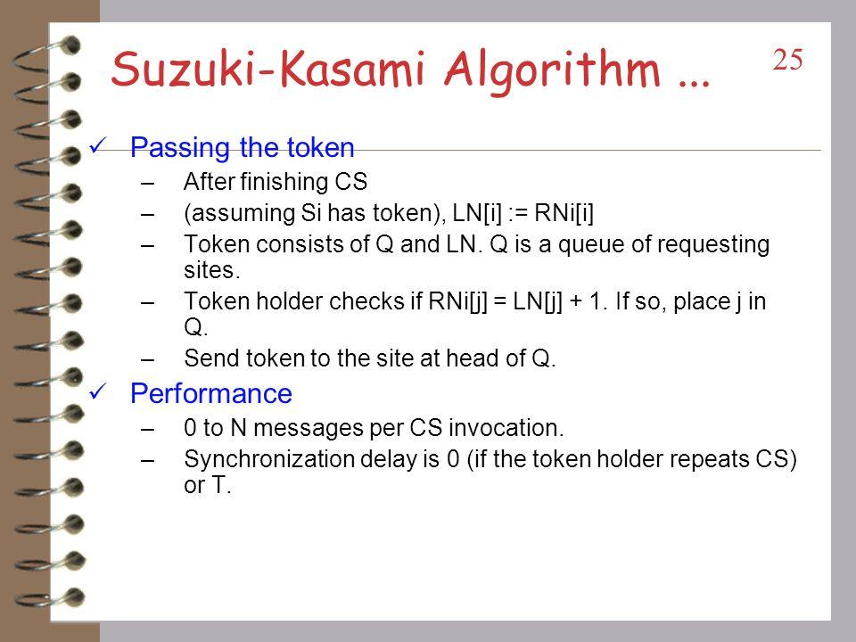 Suzuki-Kasami Algorithm ...
