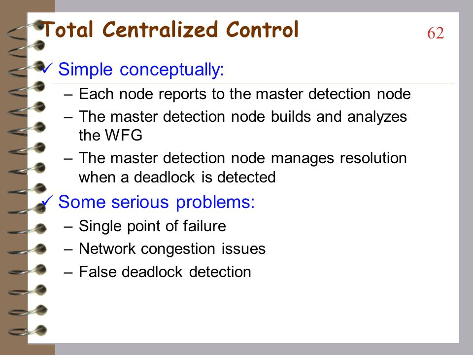 Total Centralized Control