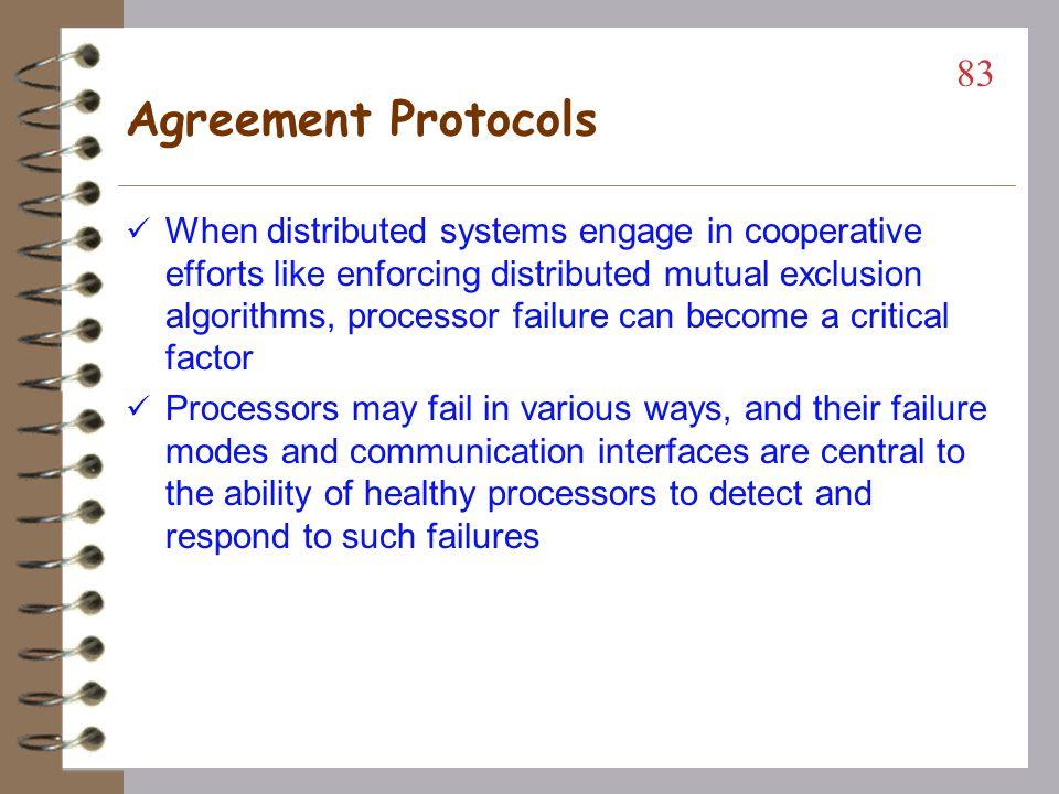 Agreement Protocols