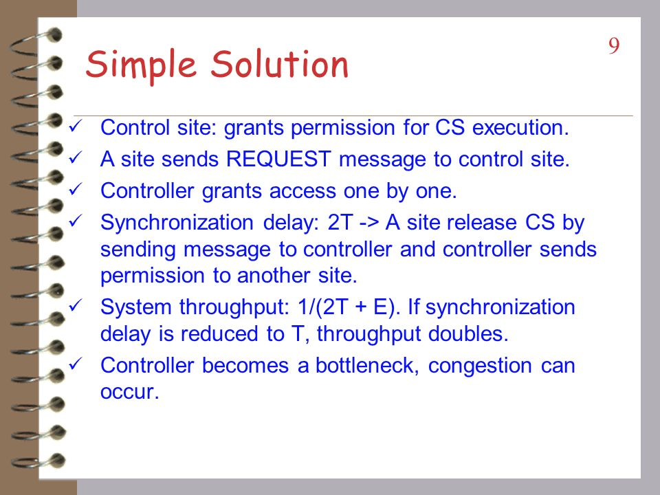Simple Solution Control site: grants permission for CS execution.