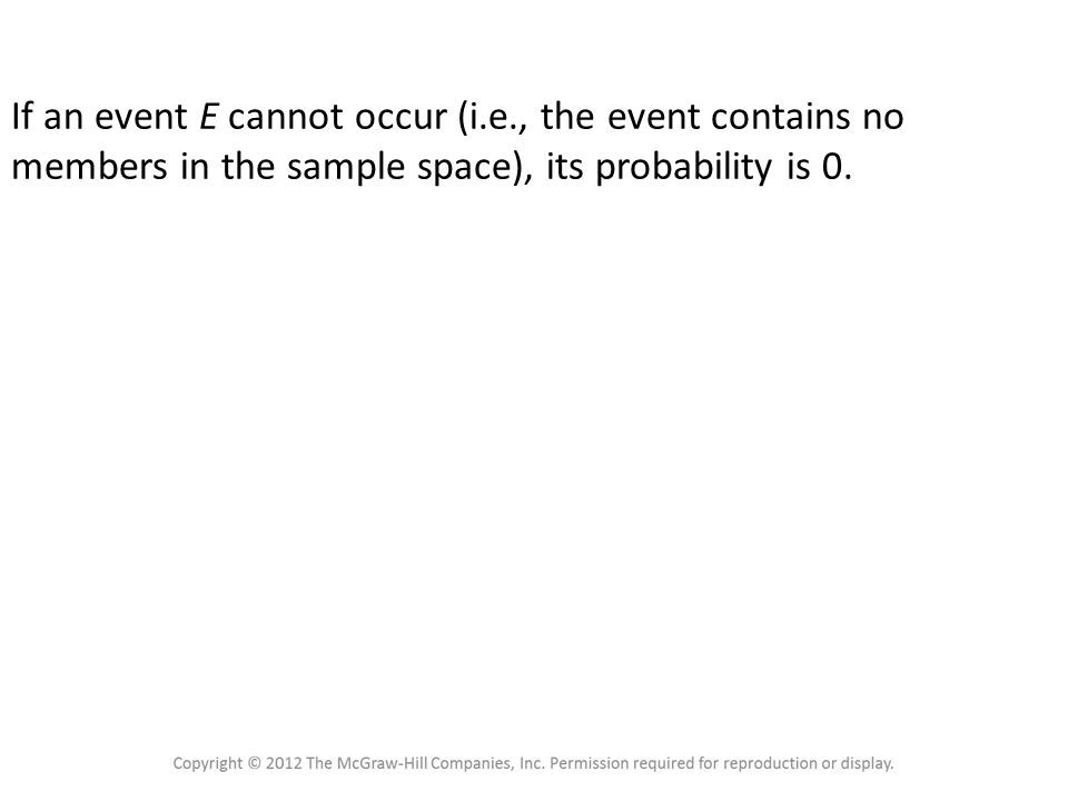 4.1 Sample Spaces and Probability Probability Rule 2