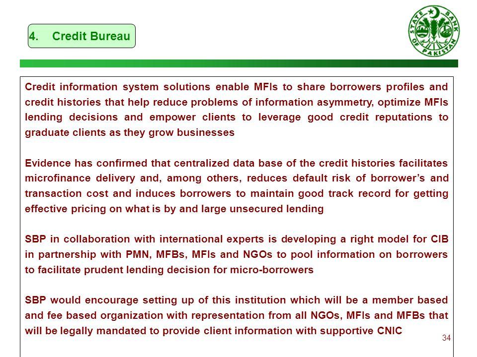 4. Credit Bureau
